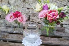 Windlicht/Vasen