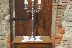 Kerzenständer silber 5 armig