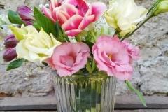 Vase gerillt