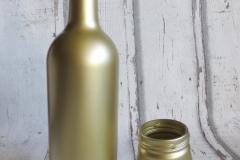 Vase Flasche gold