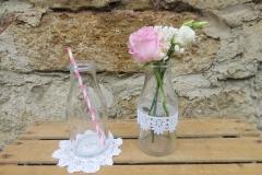 Vase Milchflasche