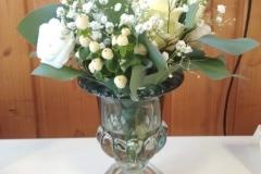 Vase eukalyptus grün