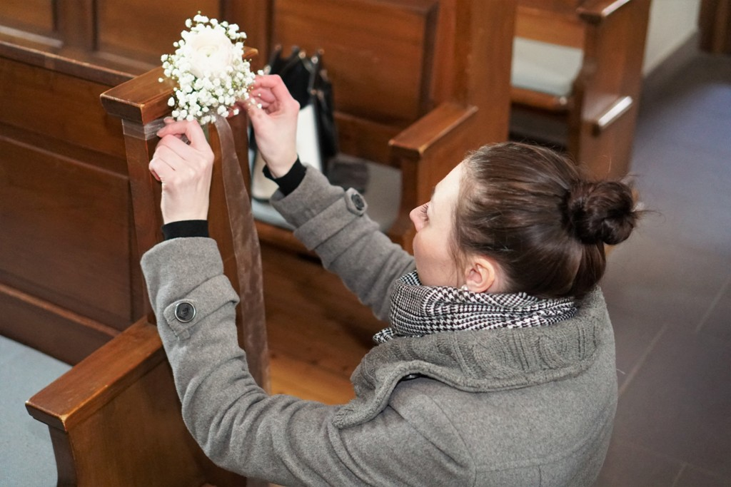 Weddingplaner bei der Arbeit