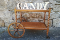 Candy Bar Tee Wagen
