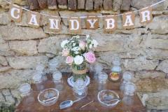 Candy Bar Vorratsglas