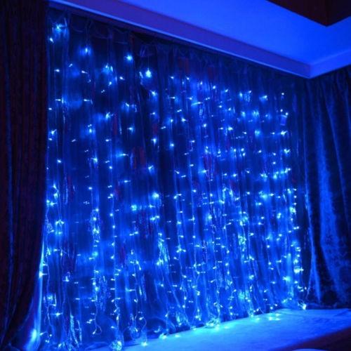 Lichterketten Vorhang