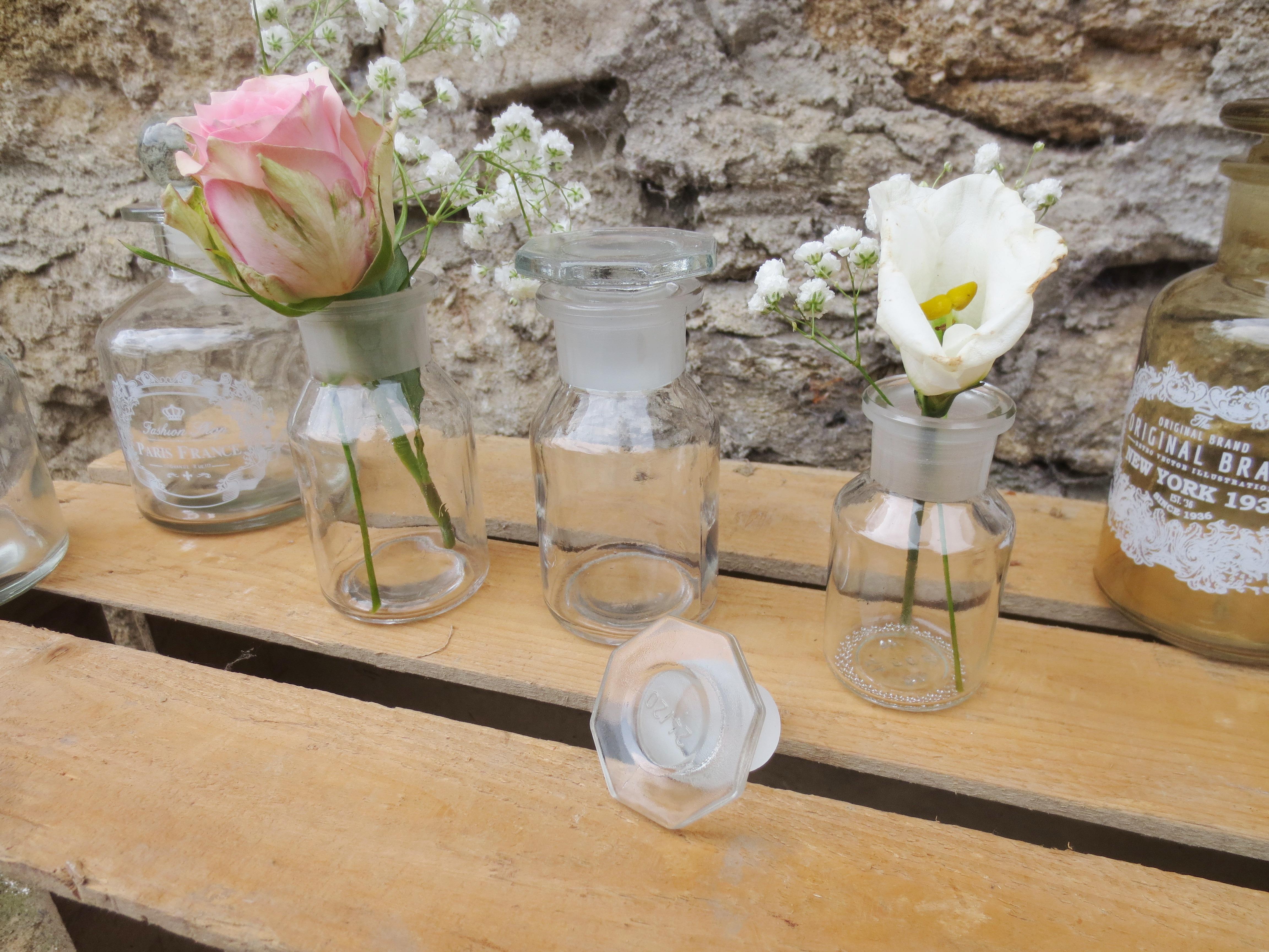 Vase Apothekerflasche