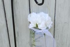 Vase gerillt Bügel